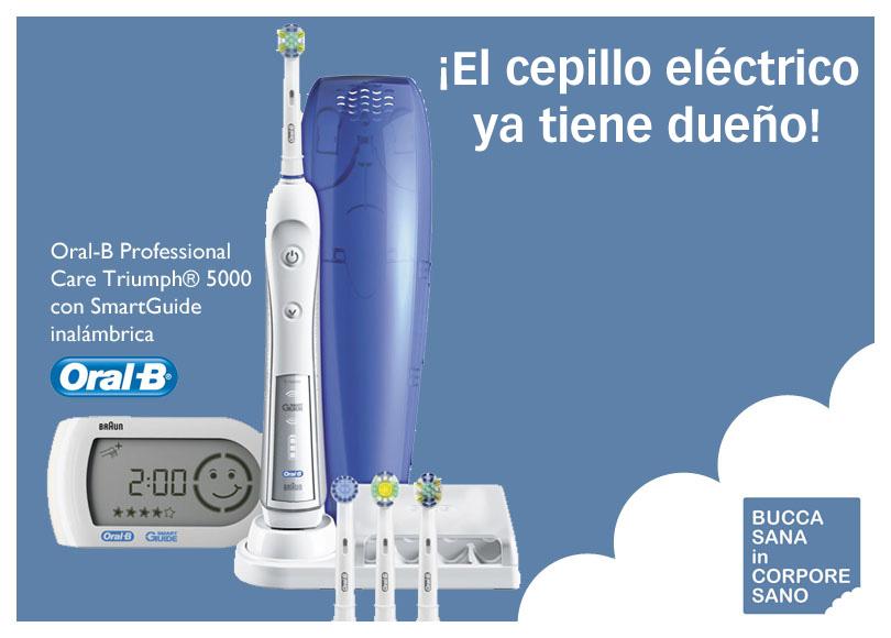 Sorteo cepillo eléctrico Oral-B